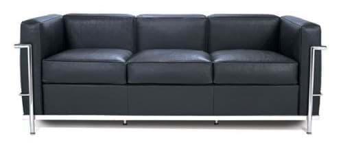 Picture of Le Corbusier LC2 Sofa, 3-Sitzer (1929)